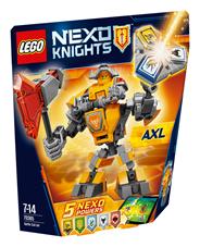 LEGO Nexo knights Zbroja Axla
