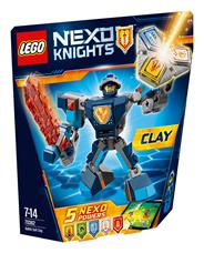 LEGO Nexo knights Zbroja Claya