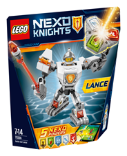 LEGO Nexo knights Zbroja Lance'a