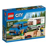 LEGO City Van z przyczepą kampingową
