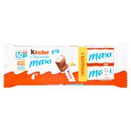 Kinder Chocolate Maxi Batonik z mlecznej czekolady z nadzieniem mlecznym 2 x 21 g