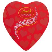 Lindt Lindor Serce Pralinki z czekolady mlecznej z nadzieniem 187 g