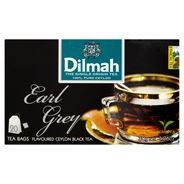 Dilmah Earl Grey Cejlońska czarna herbata z aromatem bergamoty 30 g (20 torebek)