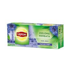 Lipton Earl Grey Herbata zielona 40 g (25 torebek)
