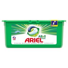 Ariel Mountain Spring 3 w 1 Kapsułki do prania, 28prań