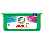 Ariel Color 3 w 1 Kapsułki do prania, 28prań