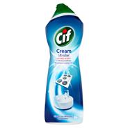 Cif Cream UltraBiel z wybielaczem z mikrokryształkami Mleczko do czyszczenia powierzchni 1001 g