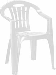 Krzesło ogrodowe Mallorca białe