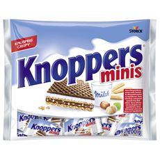 Knoppers Minis Wafelek mleczno-orzechowy 200 g