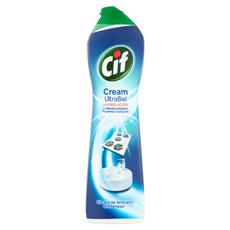 Cif Cream UltraBiel z wybielaczem z mikrokryształkami Mleczko do czyszczenia powierzchni 693 g 4 sztuki