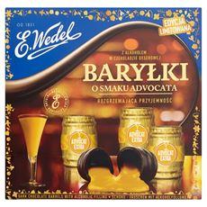 E. Wedel Baryłki z alkoholem w czekoladzie deserowej o smaku advocata 200 g