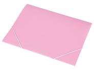 Panta Plast Teczka z gumką różowa A4