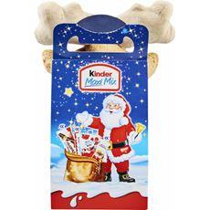 Kinder Maxi Mix Zestaw świąteczny czekoladek z zabawką 133 g