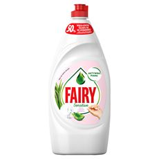 Fairy Sensitive Aloes i jaśmin Płyn do mycia naczyń 900 ml