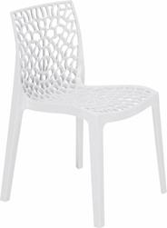 Grand Soleil Krzesło ażurowe Gruvyer białe