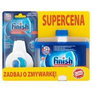 Finish 5x Power Actions Odświeżacz do zmywarki 4 ml i Płyn do czyszczenia zmywarki 250 ml