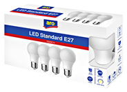Aro żarówka LED A60 5,3W E27 2700K 4 sztuki