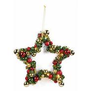 Podświetlany stroik świąteczny w kształcie gwiazdy
