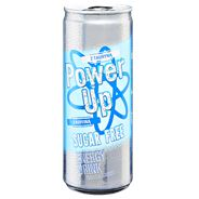 Power Up Sugar Free Gazowany napój energetyzujący 250 ml 4 sztuki