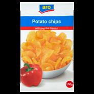 Aro Chipsy ziemniaczane o smaku paprykowym 150 g