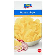 Aro Chipsy serowo-cebulowe 90 g