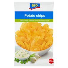 ARO chipsy śmietanowo-cebulowe 150 g