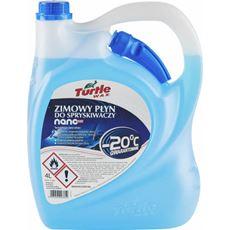 TURTLE WAX - Zimowy Płyn do Spryskiwaczy 4l -20C  Etanol