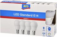 Aro żarówka LED kula E14 3,6W 2700K 4 sztuki