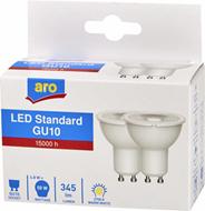 Aro żarówka LED REF. GU10 4,8W 2700K 2 sztuki