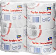 Aro Papier toaletowy makulaturowy 4 rolki 8 sztuk