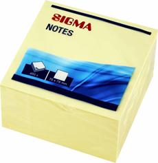 Sigma Karteczki samoprzylepne 75 x 75 mm 450 sztuk
