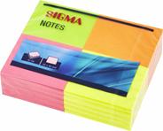 Sigma samoprzylepne karteczki kolorowe 50x40mm