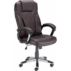 Nowy Styl fotel biurowy Magnat brązowy