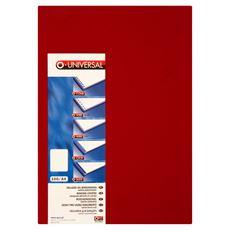 OPUS Okładki do bindowania karton skóropodobny czerwone A4 100 sztuk