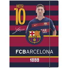 FC Barcelona Teczka z gumką A4