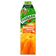Tymbark Pomarańcza z miąższem Nektar 1 l 6 sztuk