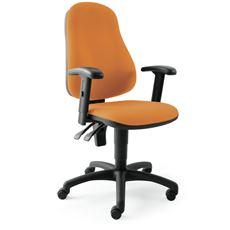 Sigma Betina Krzesło obrotowe pomarańczowe