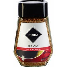 Rioba Kawa rozpuszczalna liofilizowana 100% Arabica 200 g