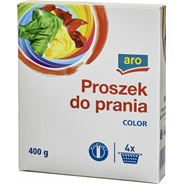 Aro proszek do prania, kolor, 6 x 400 g
