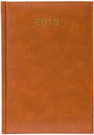 Kalendarz A4 skóropodobny BALADEK TYGODNIOWY, brązowy