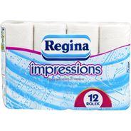Regina impressions Papier toaletowy 3 warstwy 12 rolek