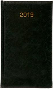 Kalendarz A6 skóropodobny BALADEK TYGODNIOWY, zielony