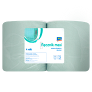 Aro Ręcznik maxi makulaturowy zielony 4 sztuki