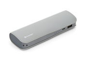 PLATINET POWER BANK LEATHER 7200mAh  GREY + kabel microUSB