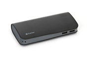 PLATINET POWER BANK LEATHER 9000mAh  BLACK + microUSB cable