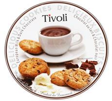 Jacobsen Tivoli Milk&Dark Ciastka w puszcze 150 g