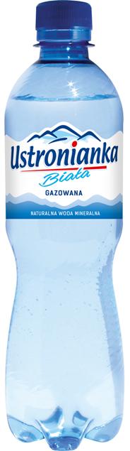 Ustronianka Biała Woda minedalna naturalna gazowana 0,5 l