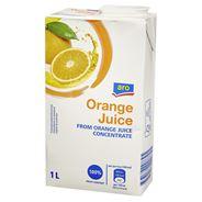 Aro Sok pomarańczowy z zagęszczonego soku pomarańczowego 1 l 6 sztuk