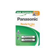 Panasonic Akumulatory AAA (P03) 750mAh. DECT. Ready-to-use