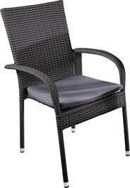 Makro Professional Krzesło rattanowe Noelani